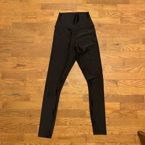 American Apparel Super Shiny High-waisted Leggings